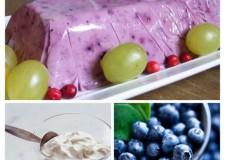Recept – Hűtött finomság a meleg tavaszi napokra: Joghurtos áfonyaparfé