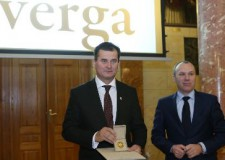 Pro Meritis Arany Emlékérmet kapott Tengerdi Győző, a VERGA Veszprémi Erdőgazdaság Zrt. vezérigazgatója