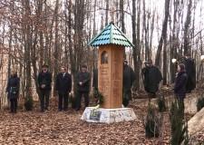 2014. december 4. – A hubertlaki hivatásos vadász emlékhely avatása