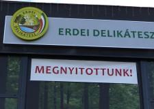 Megnyílt az első ERDEI DELIKÁTESZ szakbolt!