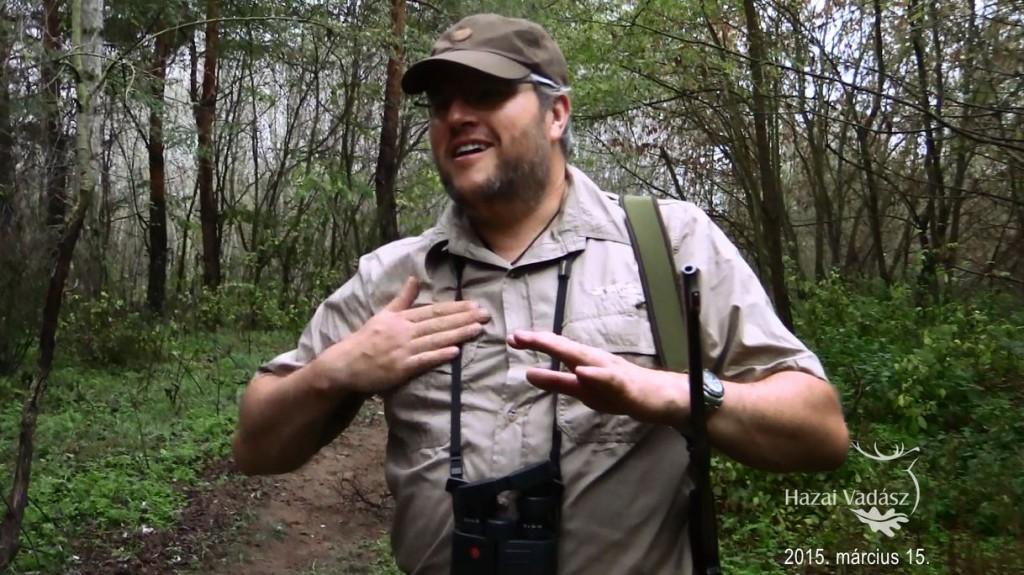 Cserkelő vadászaton a darvasi vadászkerületben – 2015. március 15-i adás