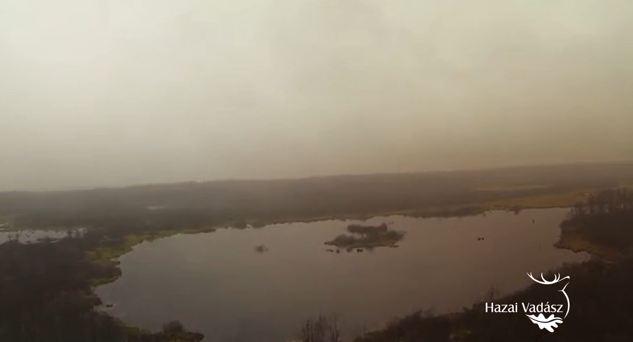 HAZAI VADÁSZ – Madárszemmel – Baláta-tó – 2014. december 6