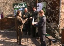 Erdészeti Erdei Iskolák minősítő oklevelének átadása a Budakeszi Vadasparkban – 2015. április12
