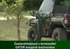 Összkerékhajtással a természetbe! – GATOR terepjárók tesztvezetése – 2015. május 24-i adás