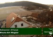 HAZAI VADÁSZ – Madárszemmel – MISZLA-ART – Magtár – 2015.01.02