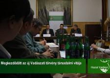 Megkezdődött az új Vadászati törvény társadalmi vitája – 2015.06.07-i adás