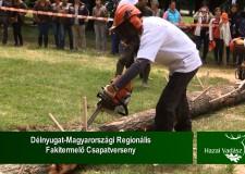 STIHL – Délnyugat-Magyarországi Regionális Fakitermelő Csapatverseny – 2015.06.21-i adás