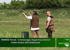 NIMRÓD Percek – A biztonságos fegyverhasználatról – 2015.09.13-i adás