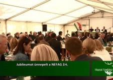 Jubileumot ünnepelt a NEFAG Zrt. – 2015.09.27-i adás
