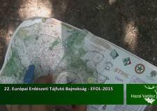 22. Európai Erdészeti Tájfutó Bajnokság – EFOL-2015 – 2015.09.13-i adás