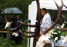 Szent Hubertus misén, az Uzsai Erdészeti Igazgatóságnál – 2015.10.16.