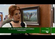 Dr. Kun Edit festőművész jubileumi kiállítása Csákberényben – 2015.10.11-i adás