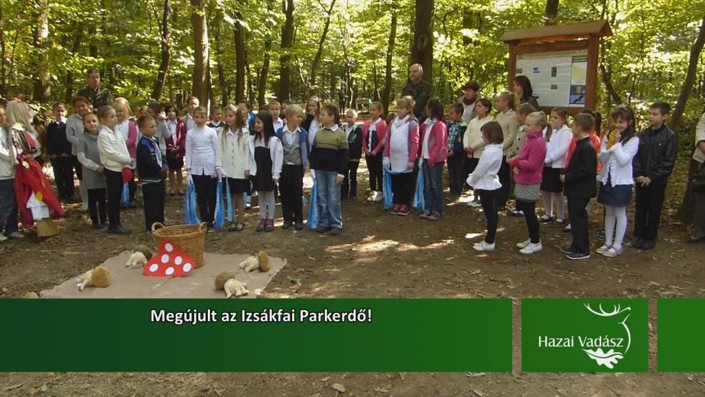 Megújult az Izsákfai parkerdő