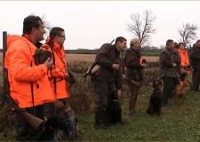St. Hubertus Jagdwettbewerb für die Jäger mit Vorstehhunden – 21.11.2015 – in Sárszentmihály