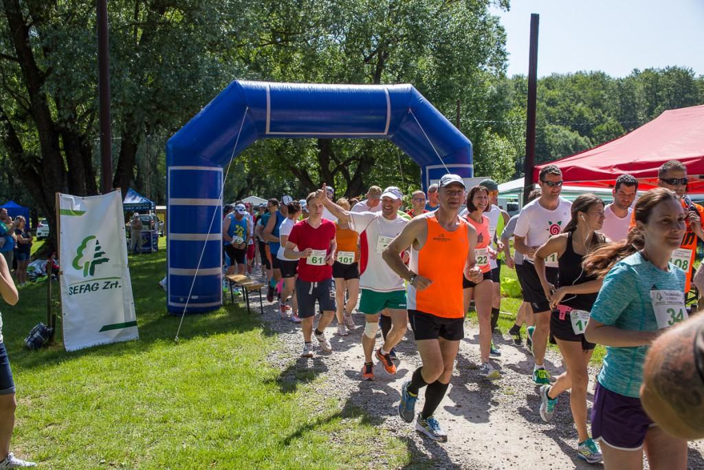 Megfutottuk! – Verseny a Zselicben: 142 fő állt rajthoz a Ropolyi tónál – 2016.05.28