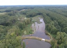 85 méter magasból: A kaszói Kűvölgyi-tórendszer!