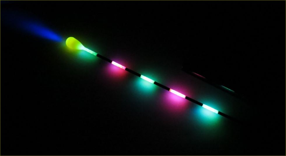 YAD – Világító, lítium LED-es waggler úszó: Régi nóta, de jó!