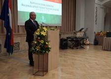 Dr. Fazekas Sándor miniszter kitüntetéseket adományozott augusztus 20-a alkalmából