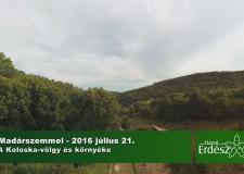 Madárszemmel – A Koloska-völgy és környéke
