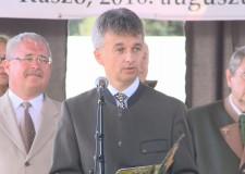 Országos Vadásznap Kaszón – Galamb Gábor vezérigazgató beszéde – 2016.08.27