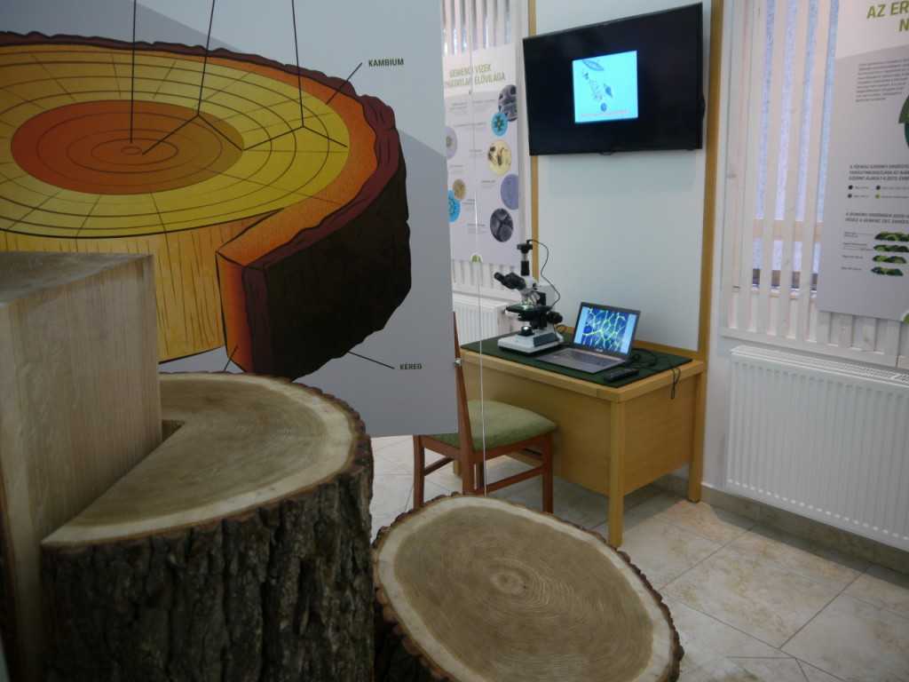 Gemenc kincsei interaktív kiállítás