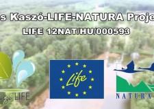 Das LIFE-Natura-Projekt in Kaszó – 2015-2016