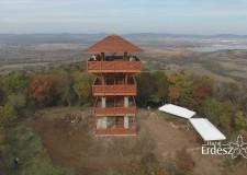 Tihanyi Őrtorony kilátó ünnepélyes átadása a Bakonyerdő Zrt.-nél – 2016.11.02 – Filmekkel!