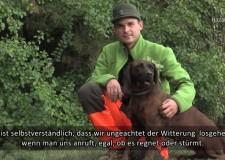 Portrait: Ferenc Bartha, der Schweißhundführer