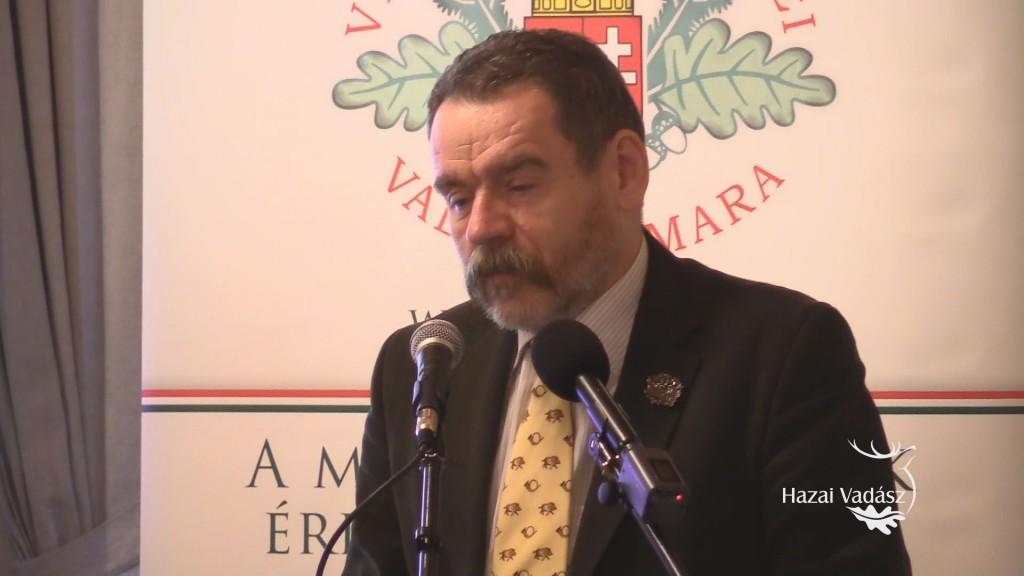 Dr. Csányi Sándor professzor előadása – OMVK Veszprém megyei Vadászati Fóruma – 2016.12.02.
