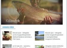 Elindultunk: Horgász filmjeink az IDŐKÉP.HU oldalon! – https://www.idokep.hu/horgasz – 2017.02.06
