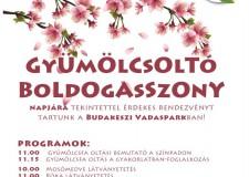 Oltsunk együtt gyümölcsfát a Budakeszi Vadasparkban! – 2017.03.23