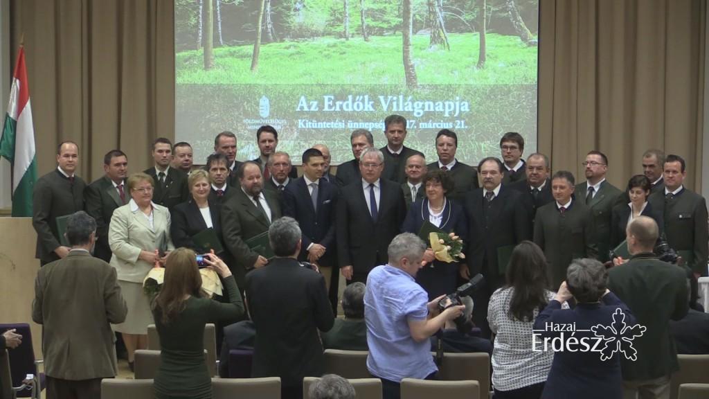 Erdők Világnapja kitüntetettek – 2017.03.21
