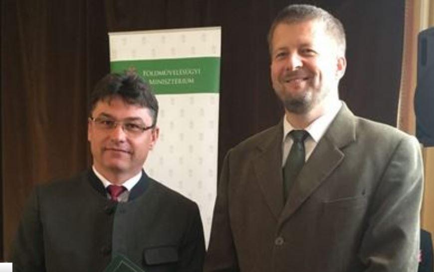 KEFAG-os kitüntetés a Föld Napja alkalmából – 2017.05.25