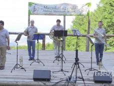 Muzsikál az erdő_Mátrai Művészeti Napok_In Medias Brass quintett fellépése_2017. 07. 08