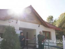Felavatták az Egererdő Zrt. új turistaházát Pazsagon – 2017.10.14