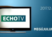 Lezárult egy korszak az ECHO-TV életében – 2017.12.03