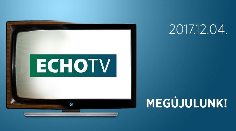 2017 december 4. 10:00 – A nap, amikor egész Magyarország az ECHO Tv-re kapcsol!