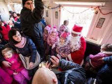 Vonatjegyeket is rejt a Mikulás puttonya – 2017.11.23.