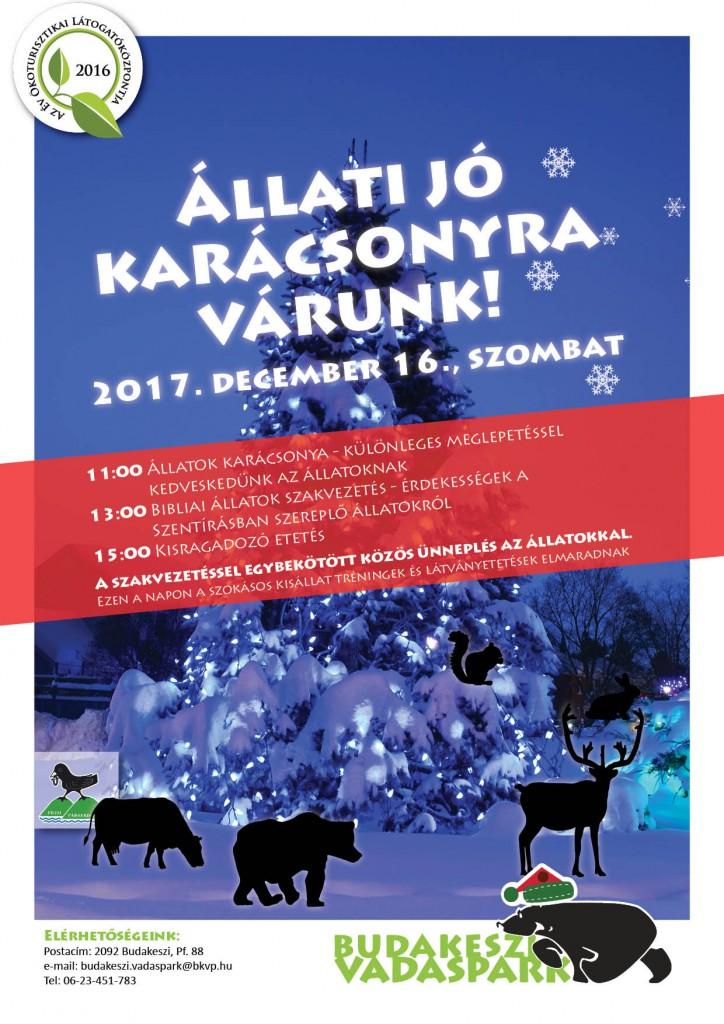 Állatok karácsonya a Budakeszi Vadasparkban – 2017.12.13.