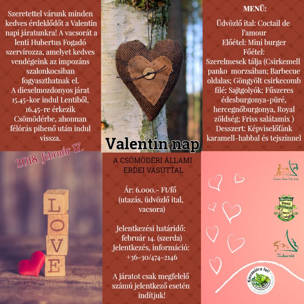 Valentin nap a Csömödéri Állami Erdei Vasúttal – 2018.01.24.
