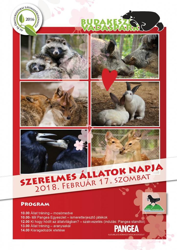 Szerelmes állatok napja a Budakeszi Vadasparkban – 2018.02.14.
