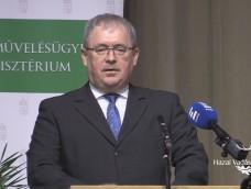 Dr. Fazekas Sándor földművelésügyi miniszter ünnepi beszéde az Erdők Nemzetközi Napján megtartott díjátadó ünnepségen – 2018.03.21.