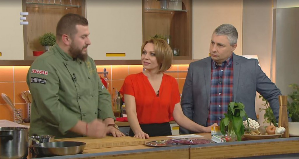 ECHO-TV – TUDAKOZÓ – Vadgasztro PERCEK Vári Dáviddal – 2018.04.11