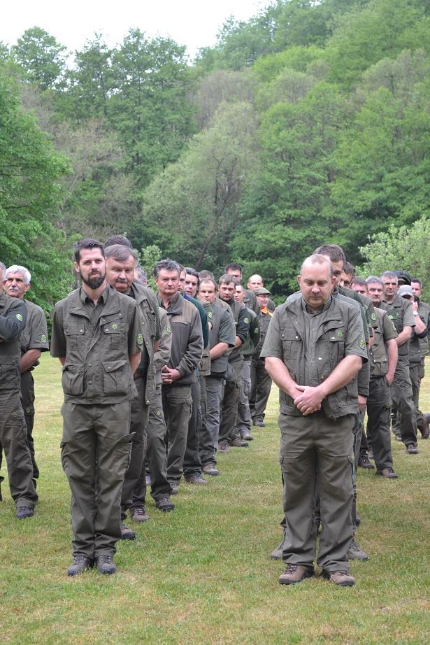 Szilvásváradi és Parádfürdői Erdészet kollegái