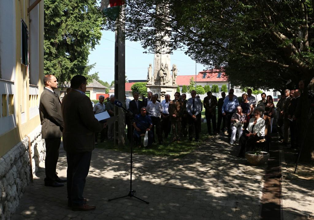 Emléktábla avatás - Fotó Csontos Péter - Gemenc Zrt.2