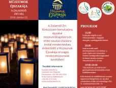 Múzeumok éjszakája a Zalaerdő Zrt.-nél – 2018.06.23.