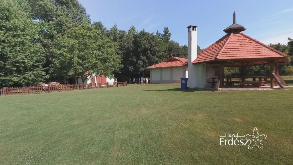 Madárszemmel – A Balaton-Felvidéki Erdészeti Erdei Iskola és környéke – 2018 augusztus