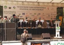 XII. Nemzetközi Vadgasztronómiai Fesztivál – Dr. Bitay Márton megnyitó beszéde – 2018.09.01.