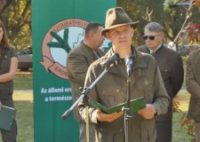 Pukánszki Zoltán vadgazdálkodási osztályvezető a Vas megyei trófeaszemlén – 2018.10.12.