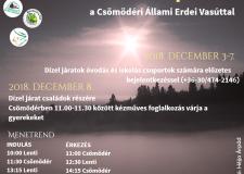 Mikulásjárat és ünnepváró készülődés Csömödérben – 2018.12.08.